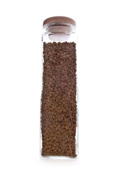 Free Lentils Bottle Royalty Free Stock Photo - 5447205