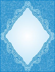 Free Blue Frame Stock Image - 5447251