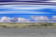 Free Clouds Fantasy Background 2 Royalty Free Stock Photography - 5447547