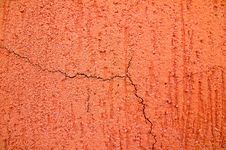 Free Cracked Wall Texture Stock Photography - 5447692