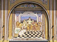 Free Shekhawati Fresco Stock Images - 5448244