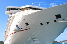 Free Caribbean Cruise Ship Stock Photo - 5449810