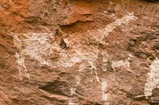 Free Ancient Cave Paintings In Patagonia Stock Photography - 5449932
