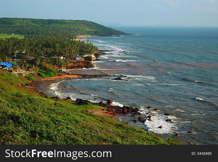 The Beach Of Goa India Free Stock Images Photos 5442465