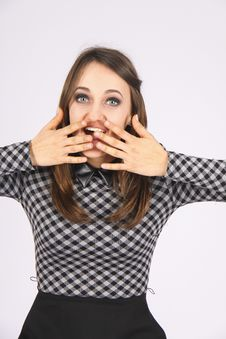 Free Scared Student Stock Photo - 54405310