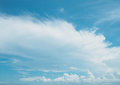 Free Clear Blue Sky With White Cloud Royalty Free Stock Photo - 54424835