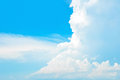 Free Bright Summer Blue Sky And Clouds As Background Royalty Free Stock Images - 54491399
