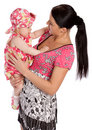 Free A Mother Hold His Infant Child Royalty Free Stock Photos - 5450918