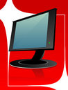 Free Flat Monitor Royalty Free Stock Images - 5450929