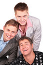 Free Three Smiling Friends Stock Photos - 5450943