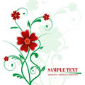 Free Floral Banner Vector Royalty Free Stock Photo - 5451225