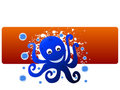 Free Octopus With Bubbles Stock Photo - 5452460