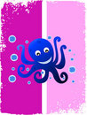 Free Octopus With Bubbles Stock Photography - 5452552