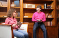 Free Young Couple With Books Royalty Free Stock Image - 5453096