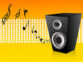 Free Loudspeaker And Notes Stock Photos - 5453103