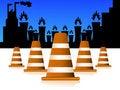 Free Road Blockers Stock Images - 5453284