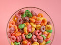 Free Bowl Of Colourful Cereal Royalty Free Stock Photos - 5454988