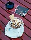 Free Ice Cream In Street Cafe Stock Photo - 5455710