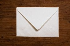 Free White Envelope. Stock Photography - 5450152