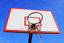Free Basketball Hoop Stock Photography - 5450172