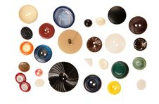 Free Buttons Isolated On White Royalty Free Stock Photos - 5450628
