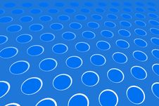 Free Blue Hole Pattern Stock Images - 5450744