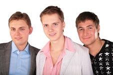 Free Portrait Of Three Friends Stock Photos - 5450873