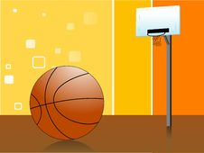 Free Ball And Net Royalty Free Stock Photo - 5450965