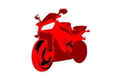 Free Super Bike Royalty Free Stock Photos - 5451028