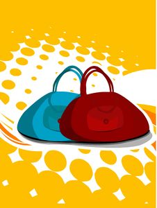 Free Couple Of Bags Royalty Free Stock Photography - 5451057