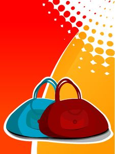 Free Couple Of  Bag Royalty Free Stock Images - 5451099