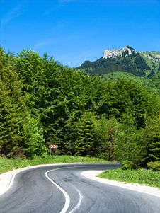 Free Highway In Romania Stock Image - 5451171