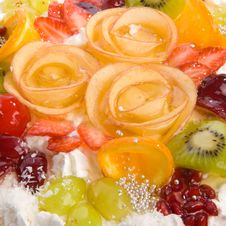 Free Close-up Tasty Cake Stock Photography - 5451692