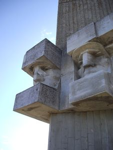 Free Tehumardi Memorial Statue Stock Image - 5451901