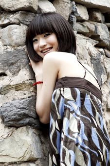 Free A Chinese Girl Stock Photos - 5452193