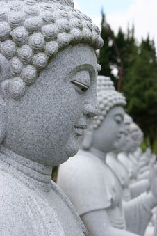 Free Buddha Statues Stock Images - 5452224