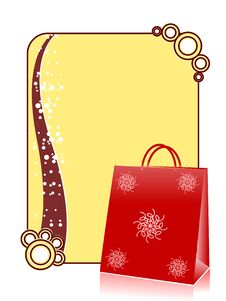 Free Shopping Hand Bag Royalty Free Stock Photo - 5452295