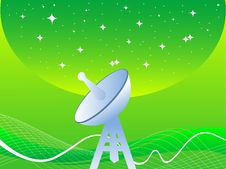 Free Satellite Antenna Royalty Free Stock Photos - 5452388