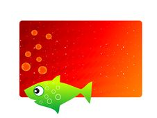 Free Little Fish With Bubbles Stock Photo - 5452450