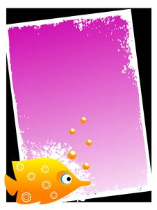 Free Fish With Bubble Stock Photography - 5452452