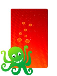 Free Octopus Illustration Stock Image - 5452461