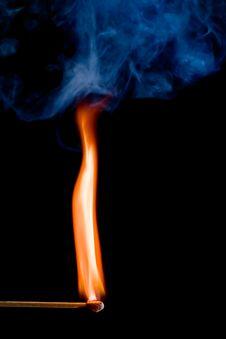 Free Flaming Match Stock Photos - 5452573