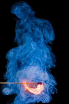 Free Flaming Match Stock Images - 5452604