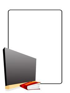 Free Book With Blackboard Stock Photos - 5452663