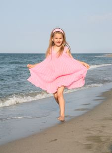 Free At The Beach Stock Photography - 5452682