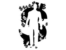 Free Dollar Man Royalty Free Stock Images - 5452769