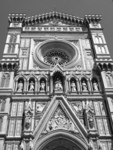 Free Santa Maria Del Fiore - Detail Royalty Free Stock Images - 5453389