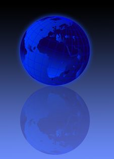 Free Earth Globe Illustration Royalty Free Stock Photo - 5453435