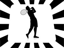 Free Tennis Player Royalty Free Stock Images - 5453459
