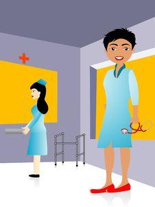 Free Doctor And Nurse Stock Photos - 5453753